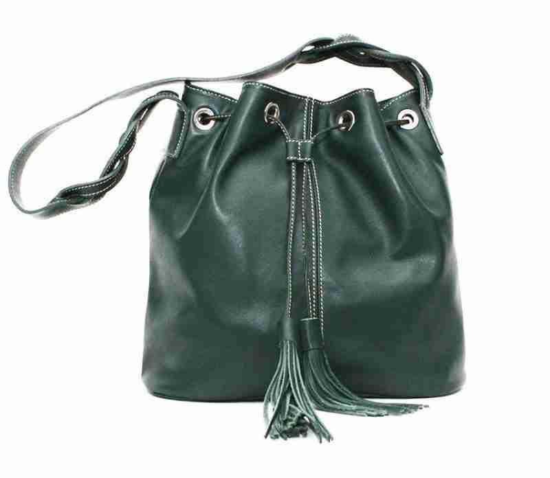 naranjo ubrique bolso braidy verde