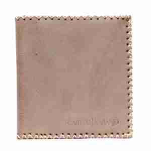 cartera de piel hilada-naranjo ubrique