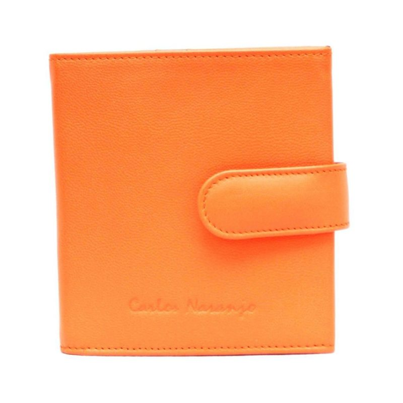 porta monedas naranja- naranjo ubrique