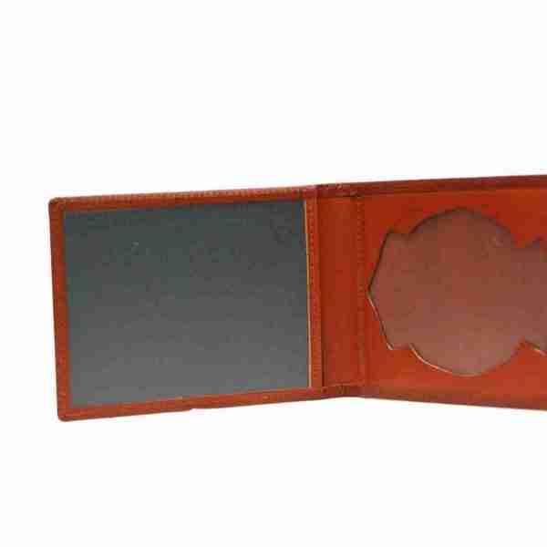 porta placas marron 1- naranjo ubrique