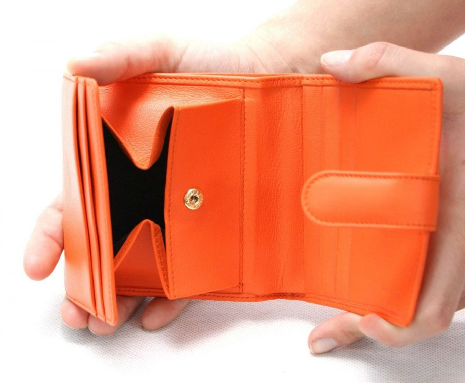porta monedas naranja 3- naranjo ubrique