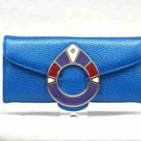 carteras piel inspiraciones azul grano- naranjo ubrique