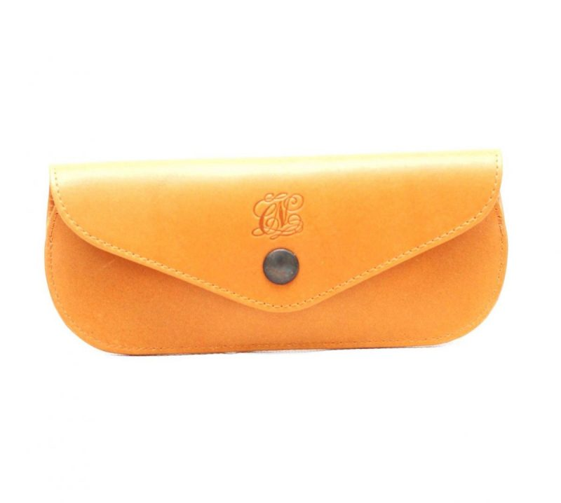 funda de gafas amarillo- naranjo ubrique