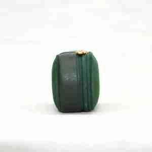 funda de gafas ante verde 1- naranjo ubrique